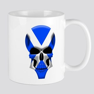 Scottish Skull Mug