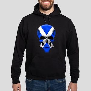 Scottish Skull Hoodie (dark)