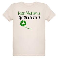 Kiss Me! I'm a Geocacher T-Shirt