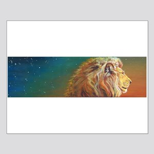 Quiet Lion Small Poster