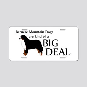 Big Deal - Berners Aluminum License Plate