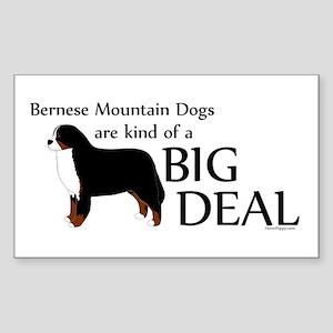 Big Deal - Berners Sticker (Rectangle)