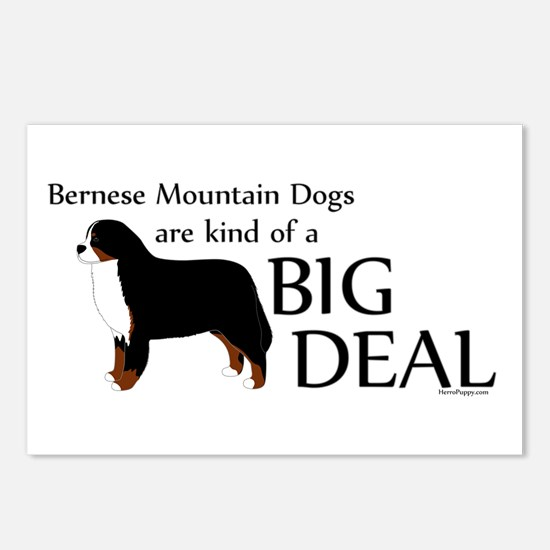 Big Deal - Berners Postcards (Package of 8)
