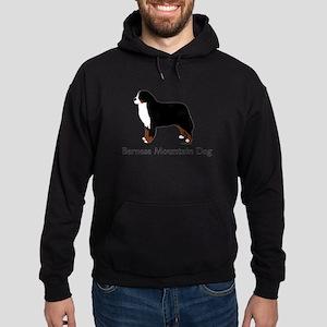 Bernese Mountain Dog Hoodie (dark)