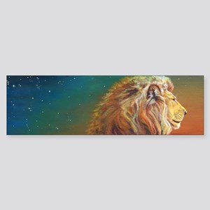 Quiet Lion Sticker (Bumper)