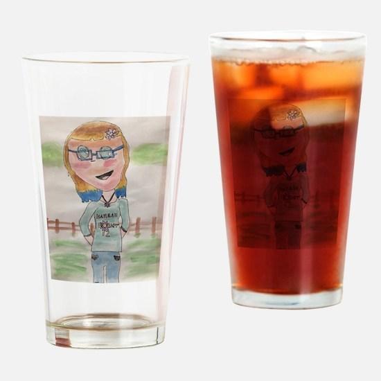 Hannahflower12 Drinking Glass