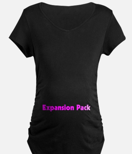 Girl Expansion Pack Maternity T-Shirt