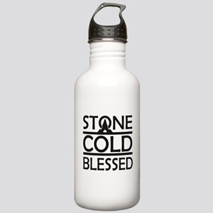 Stone Cold Blessed Stainless Water Bottle 1.0L