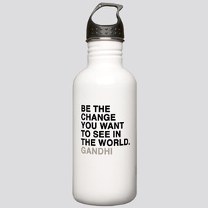 gandhi quotes Stainless Water Bottle 1.0L