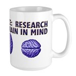 Large Brain in Mind Mug