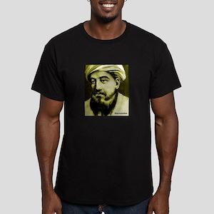 Maimonides Men's Fitted T-Shirt (dark)