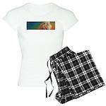 Quiet Lion Women's Light Pajamas
