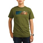 Quiet Lion Organic Men's T-Shirt (dark)