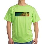 Quiet Lion Green T-Shirt