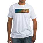 Quiet Lion Fitted T-Shirt