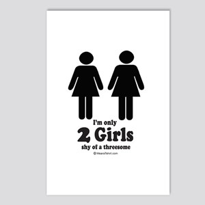 Two girls shy of a threesome -  Postcards (Package
