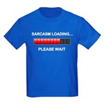 Sarcasm Loading Kids Dark T-Shirt
