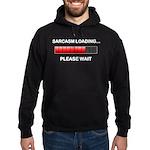 Sarcasm Loading Hoodie (dark)