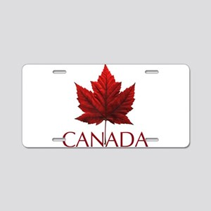 Canada Maple Leaf Souvenir Aluminum License Plate