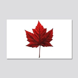 Canada Maple Leaf Souvenir 20x12 Wall Decal