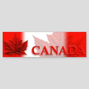 Canada Maple Leaf Souvenir Sticker (Bumper)