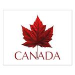 Canada Maple Leaf Souvenir Small Poster