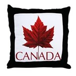 Canada Maple Leaf Souvenir Throw Pillow