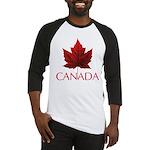 Canada Maple Leaf Souvenir Baseball Tee