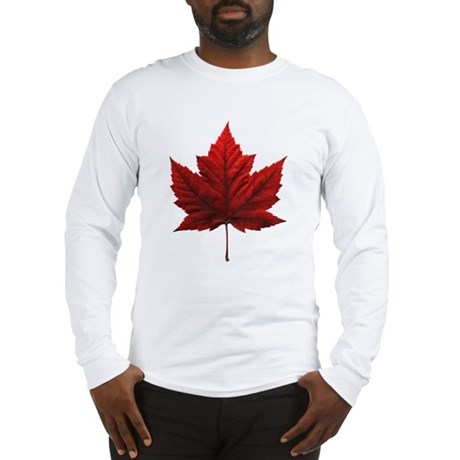 Canada Maple Leaf Souvenir Long Sleeve T-Shirt