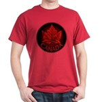 Canada Maple Leaf Souvenir Dark T-Shirt