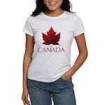 Canada Maple Leaf Souvenir Women's Classic T-Shirt