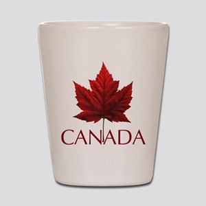 Canada Maple Leaf Souvenir Shot Glass