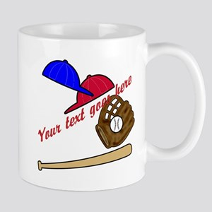Personalized Baseball Gear Mug