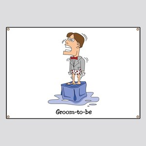 Funny Groom to Be Banner