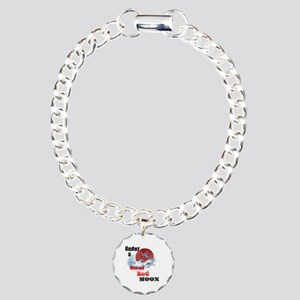 Under a Blood Red Moon Charm Bracelet, One Charm