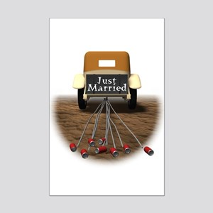 Just Married Mini Poster Print
