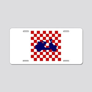 Mod Scooter Aluminum License Plate