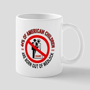 MO MORALS LEFT Mug