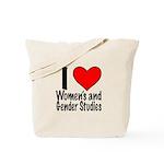 I Heart Women's and Gender Studies Tote Bag