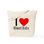 I Heart Women's Studies Tote Bag