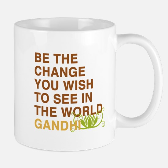 gandhi quotes Mug