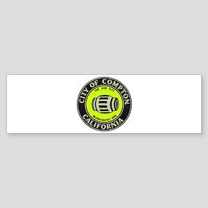 Compton City Seal Sticker (Bumper)