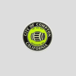 Compton City Seal Mini Button