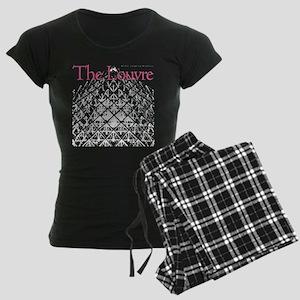 Louvre Pyramid Women's Dark Pajamas
