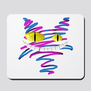 Silly Cheshire Cat Mousepad