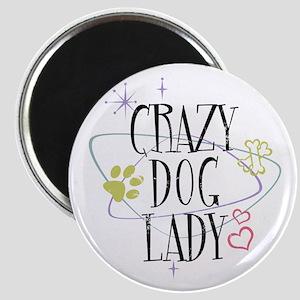 Crazy Dog Lady Magnet