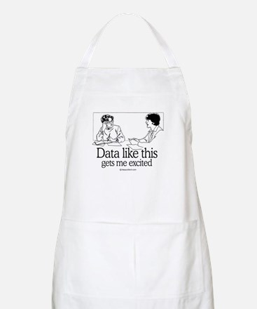 Data like this gets me excited -  BBQ Apron