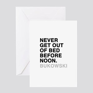 bukowski quote Greeting Card
