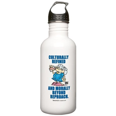Culturally refined, and moral Stainless Water Bott