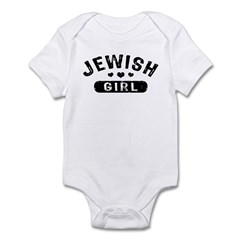 Jewish Girl Infant Bodysuit